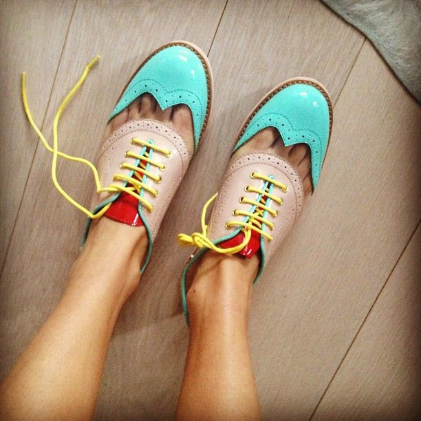 rachel antonoff: Crazy Shoes, Summer Shoes, Neon, Oxfords Shoes, Colors Wheels, Fashion Hairstyles, Rachel Antonoff, Dance Shoes, Colors Oxfords