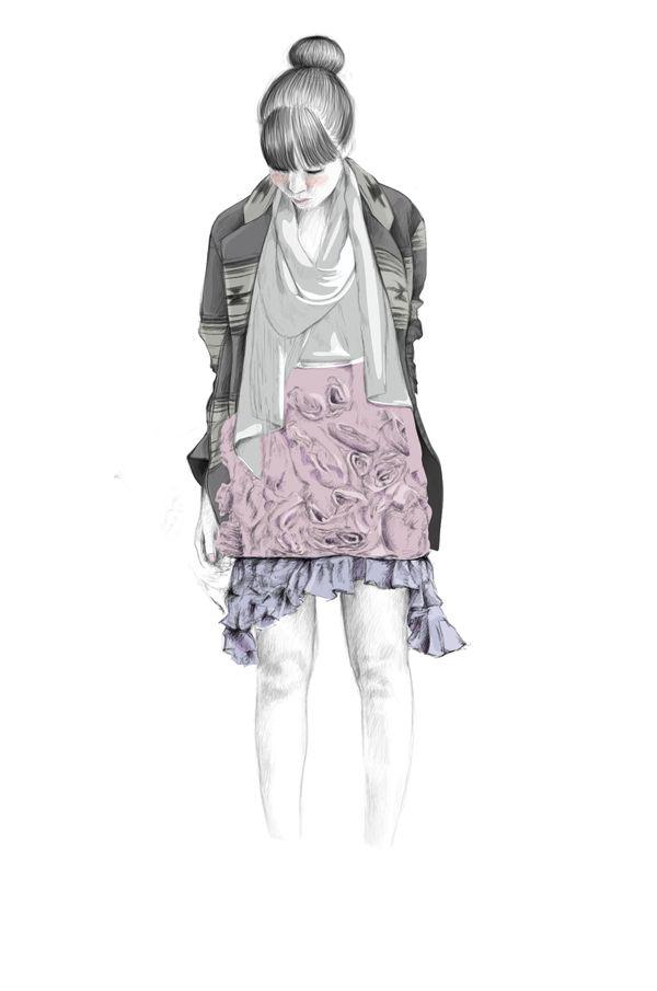 Anka Kuprian Fashion Illustrations