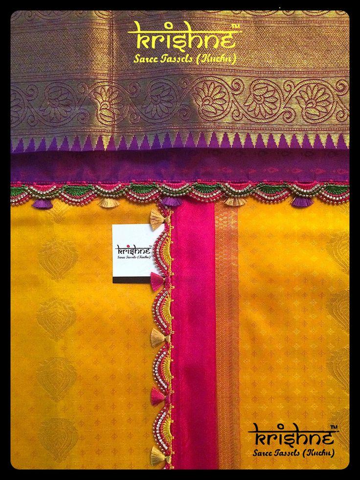 Bridal Tassel Kuchu from Krishne Saree Tassels