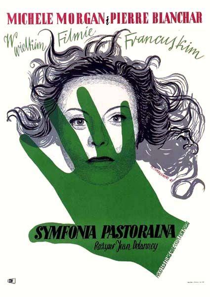 Symphonie Pastorale Delannoy J. Henryk Tomaszewski movie poster 1947