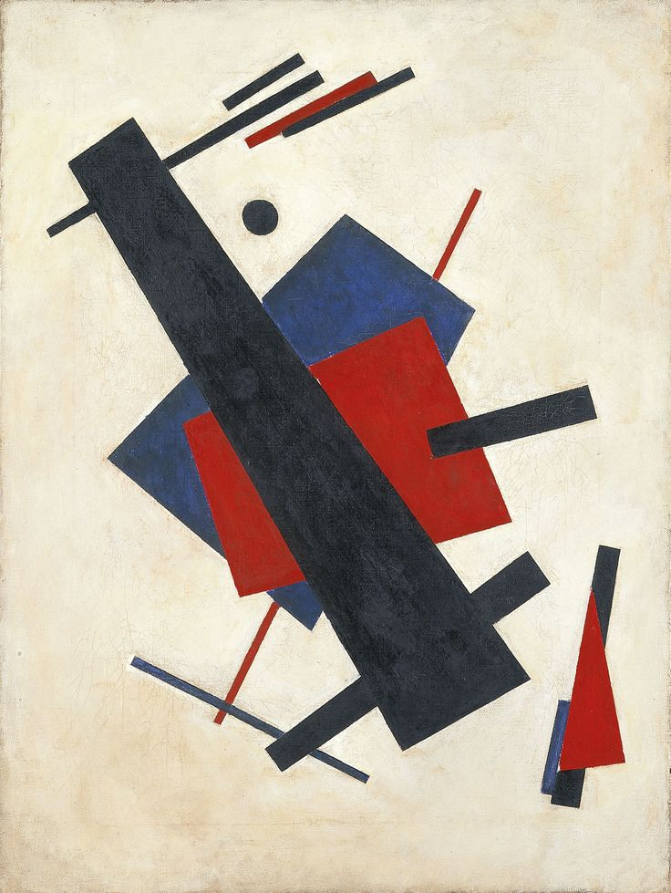 Nikolái Suetin (1897—1954) - Suprematismo. 1920-1921. Museo Thyssen-Bornemisza, Madrid | Никола́й Миха́йлович Суе́тин