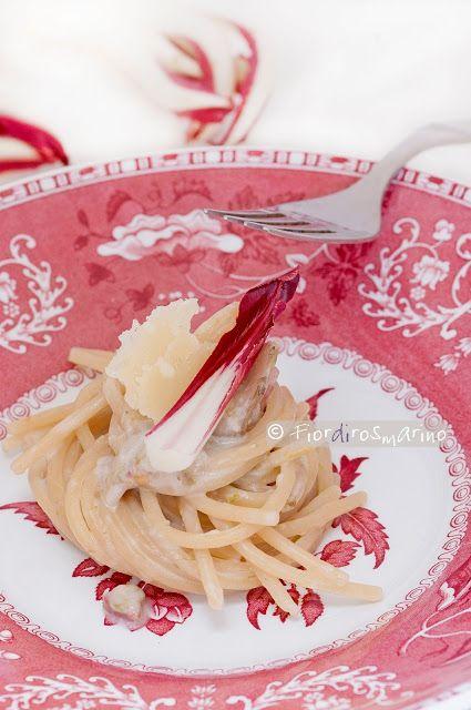 Vermicelli al radicchio #pasta