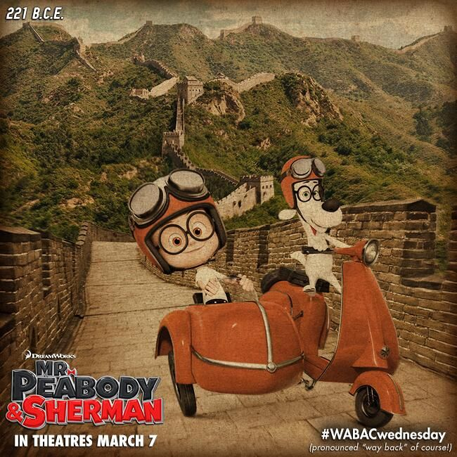 #WABACwednesday 7 for Mr Peabody And Sherman