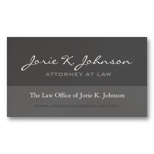 25 best images about attorney business cards samples on for Best attorney business cards