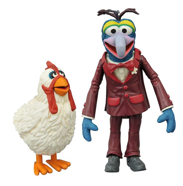 The Muppets Select Action Figure Set Gonzo & Camilla