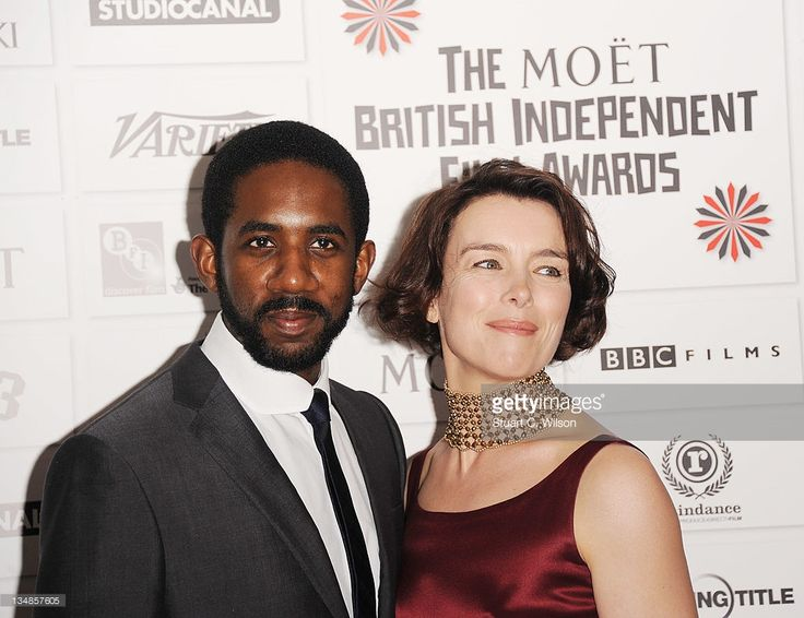 Rhashan Stone and Olivia Williams attends The Moet British Independent Film Awards at Old Billingsgate Market on December 4, 2011 in London, England.