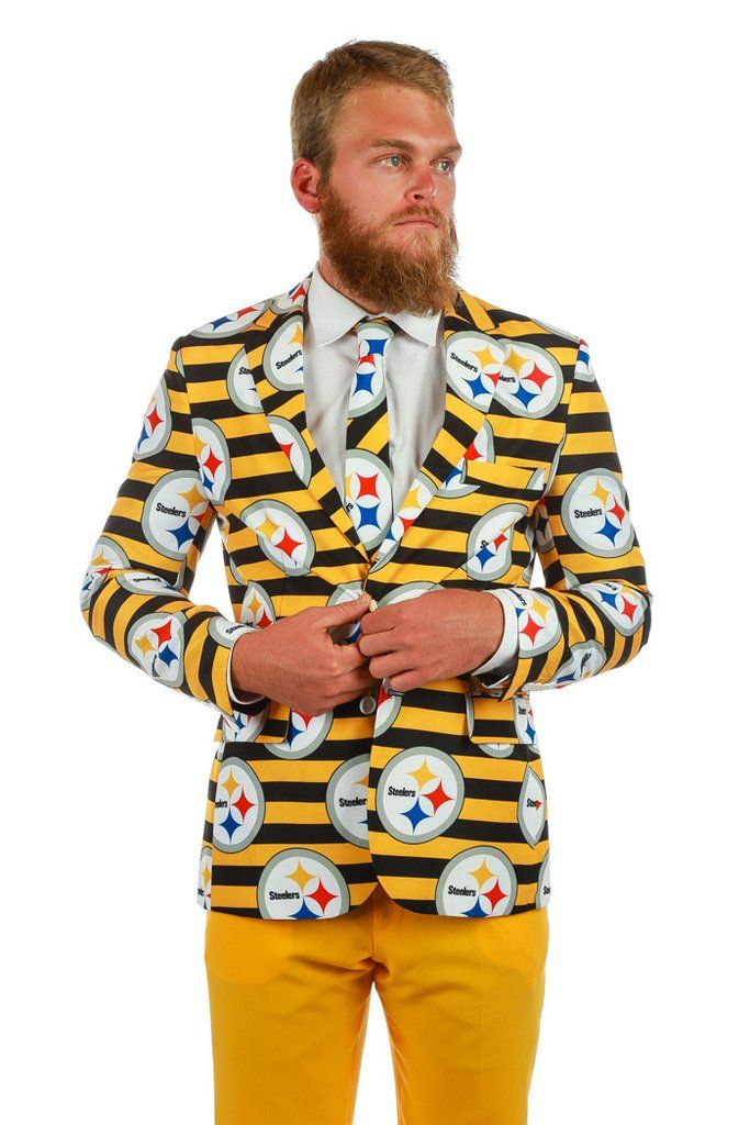 Cheap The First ever Pittsburgh Steelers Suit | Get your NFL suits and  for sale