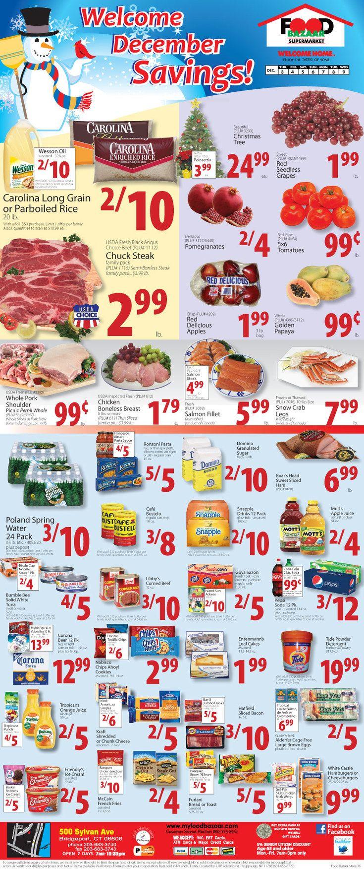 Food bazaar circular november 27 december 2 2015