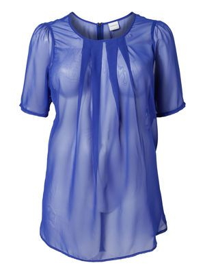 ROY 2/4 SLEEVE TUNIC  #blue #top #junarose @David Rose