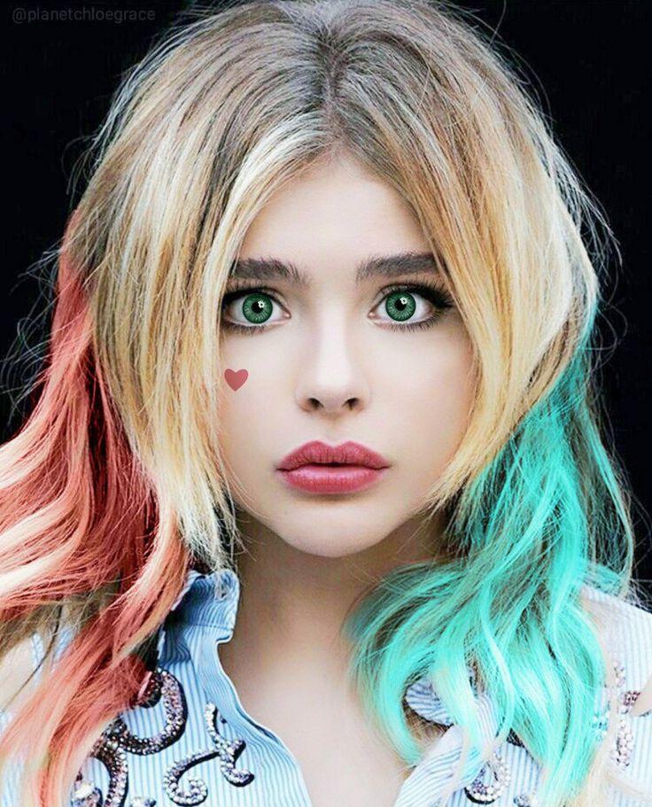 Chloe as Harley Quinn