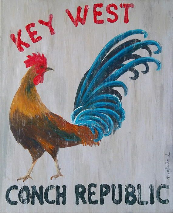 Original description: Key West Conch Republic   (Hemingway was a Key West man.)