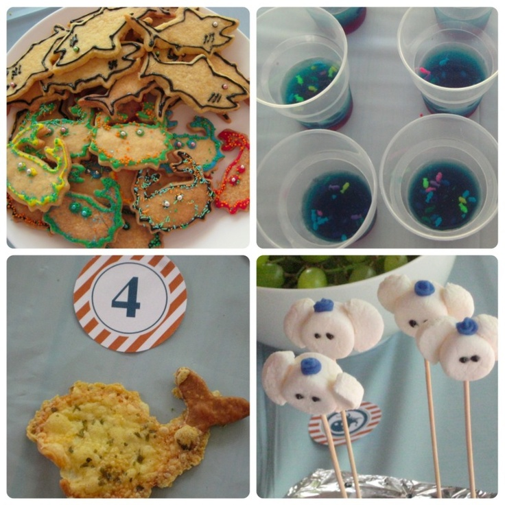 Octonauts Birthday Party ideas. Get creative, lady!