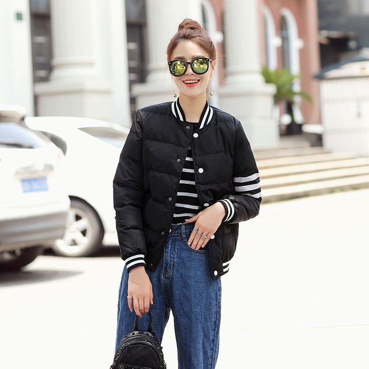 $27.90 (Buy here: https://alitems.com/g/1e8d114494ebda23ff8b16525dc3e8/?i=5&ulp=https%3A%2F%2Fwww.aliexpress.com%2Fitem%2FICENY-Winter-parkas-Black-bomber-jacket-Women-letter-NO-32-coat-cool-basic-down-jacket-Padded%2F32712182168.html ) ICENY Winter parkas Black bomber jacket Women letter NO.32 coat cool basic down jacket Padded zipper chaquetas biker outwear for just $27.90