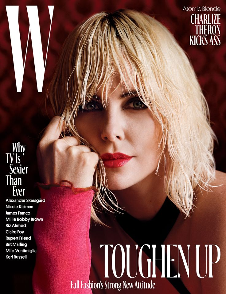 Charlize Theron Toughens Up for W's August 2017 Cover, and Atomic Blon Photos | W Magazine