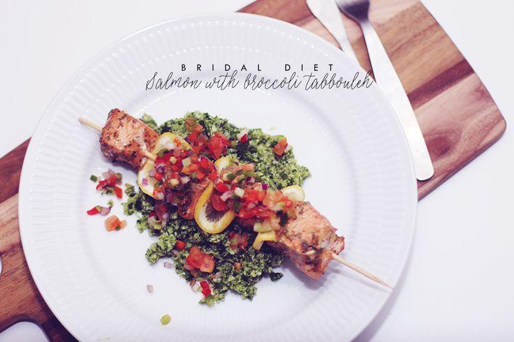 laks-på-spyd-med-broccoli-tabbouleh