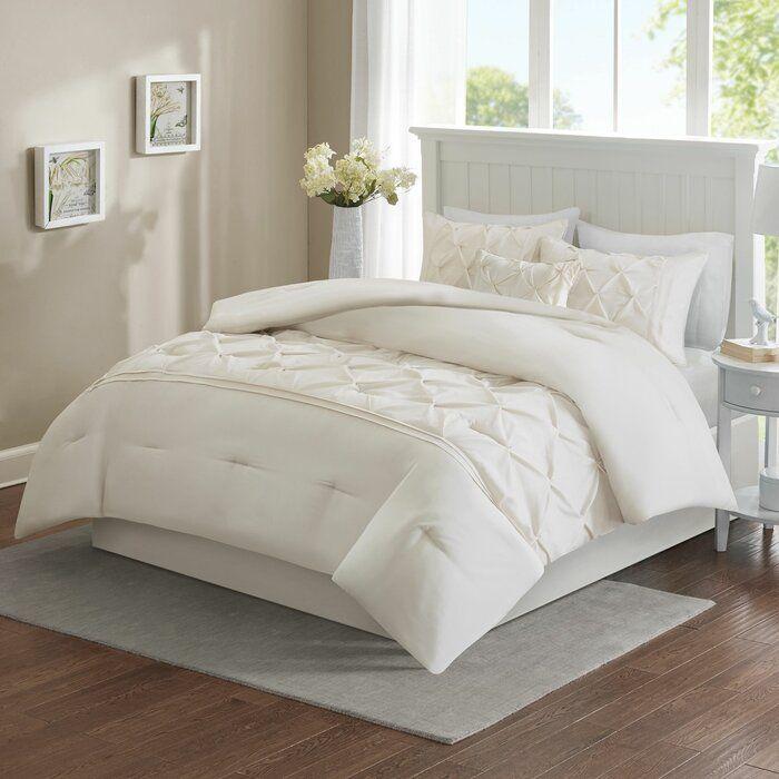 House Of Hampton Amaro Tufted Comforter Set Reviews Wayfair