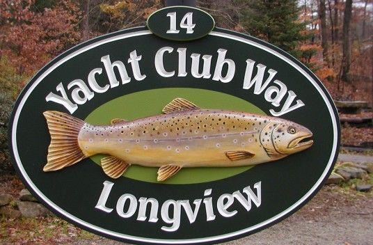 Yacht Club Way Club Sign / Danthonia Designs