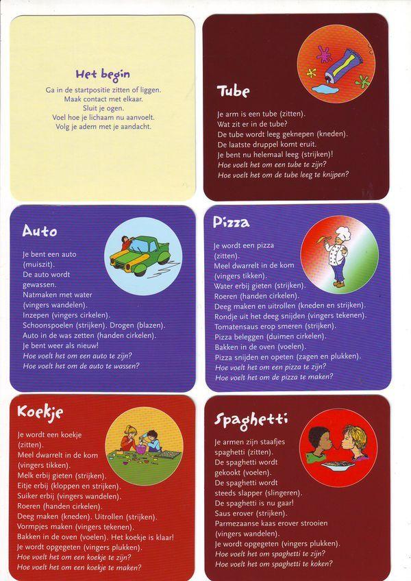 Kindermassagekaarten