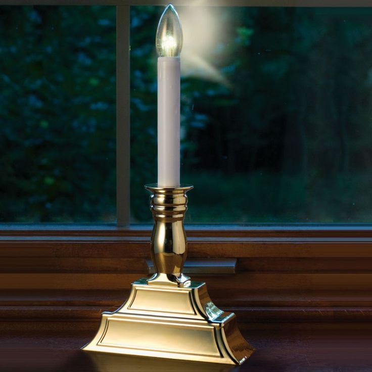 Led Window Candle Lights Electric #christmascandleselectric