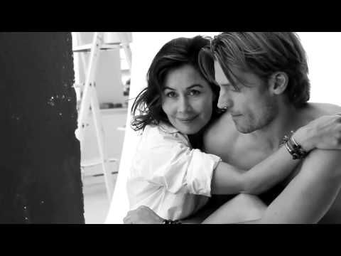 One Soul Campaign - Nikolaj Coster-Waldau (Game of Thrones) - YouTube  Such a beautiful, sweet moment between him and his wife. He is so sexy she is one lucky lady