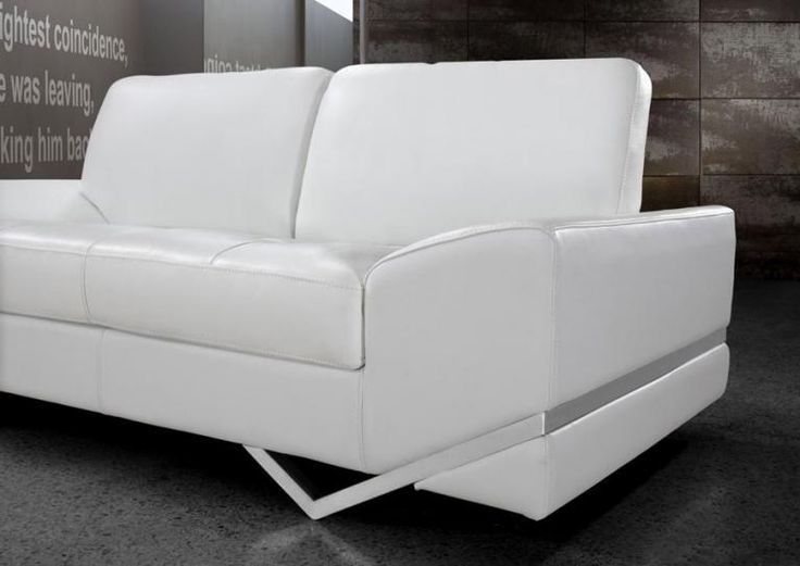 Best 25 White leather sofas ideas on Pinterest