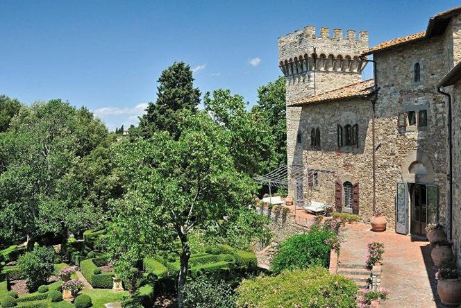The Castle of Panzano in Chianti. www.italianways.com/panzano-middle-ages-and-the-internet-in-chianti/