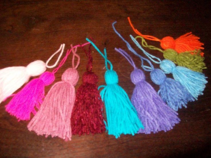 Como hacer borlas de lana | Ialdametuka
