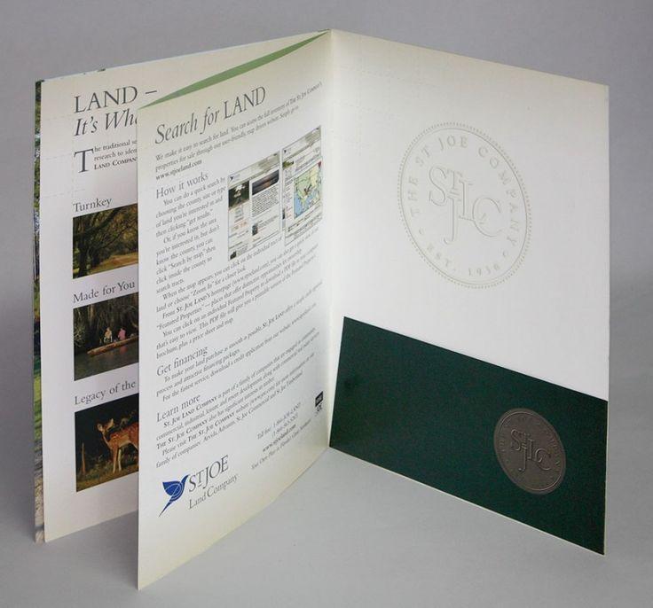 13 best Booklet with Folder Pocket images on Pinterest Booklet - resume presentation folder