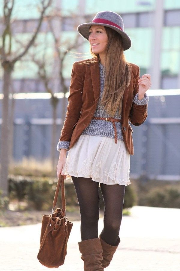 50e4d5b71e 21 Fashionable Casual Combinations With Skirts and Dress For This Season