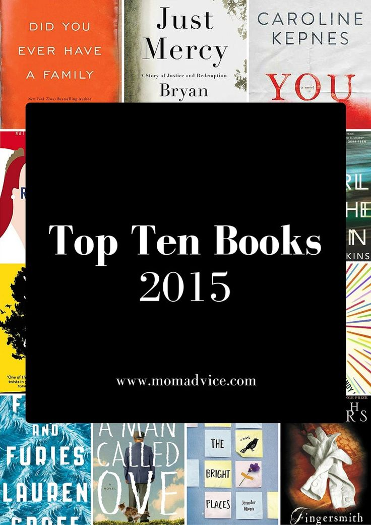 The Best Books of 2015 from MomAdvice.com! 20 incredible reads to check out from your library- what a great list!