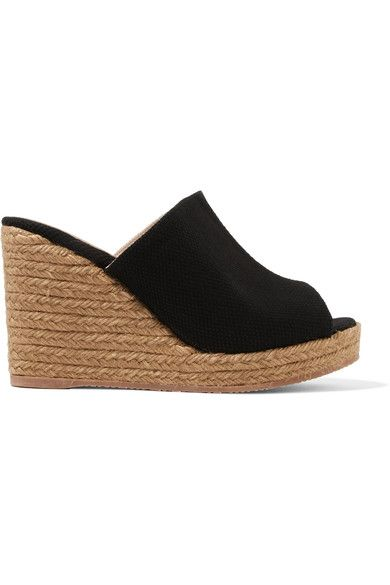 CASTAÑER | Bubu canvas espadrille wedge sandals #Shoes #Espadrilles #Wedges #CASTAÑER