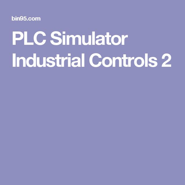 PLC Simulator Industrial Controls 2