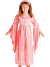 Fairytale Renaissance Maiden Princess Costume for Toddler Girls - Party City