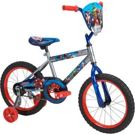 16 inch Huffy Marvel Avengers Boys' Bike, Multicolor