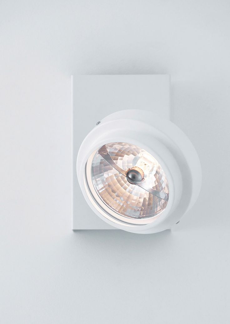 SPOT - Wall or ceiling lamp with adjustable spotlight