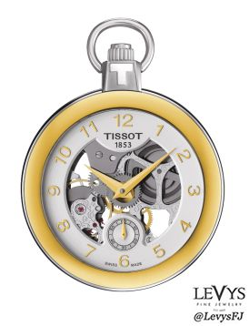 T853_405_29_412_00- POCKET MECHANICAL SKELETON #Tissot #TPocket