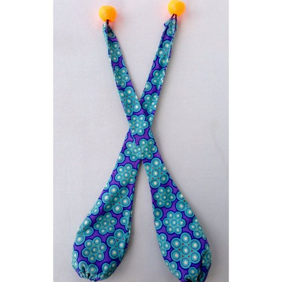 Handmade cone poi Fabric poi Full Set Choose your by PoiCreations