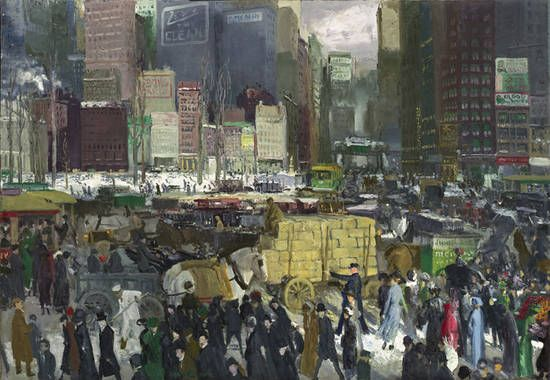 George Bellows, New York, 1911