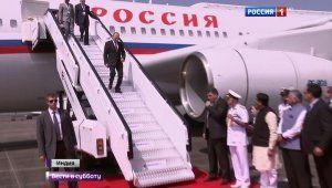 (видео-VIDEO-)  Из-за тумана Владимир Путин застрял в Мумбаи (бывший Бомбей)   15 октября 2016