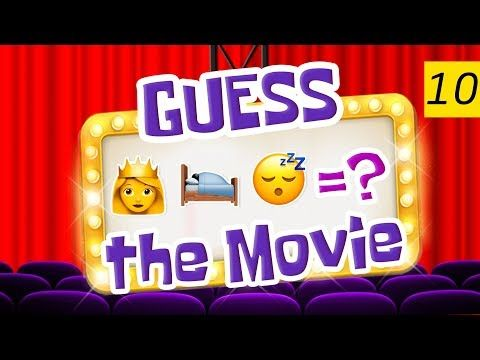 Can You Guess All The Movies? | Emoji Challenge 10 - YouTube
