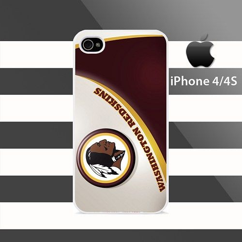 Washington Redskins iphone 4 4s Rubber Case Cover