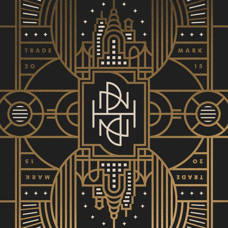 Art deco graphic design style images for Deco graphic
