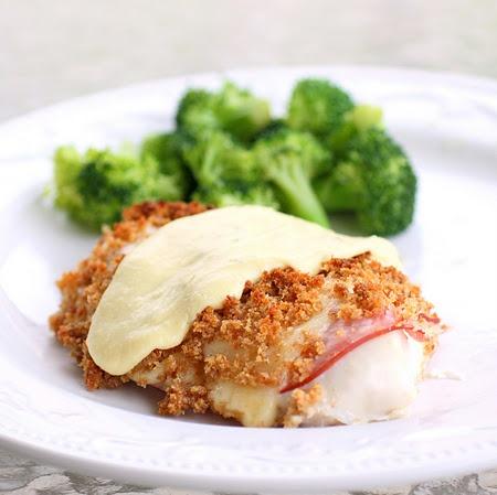 easy chicken cordon bleu #recipes
