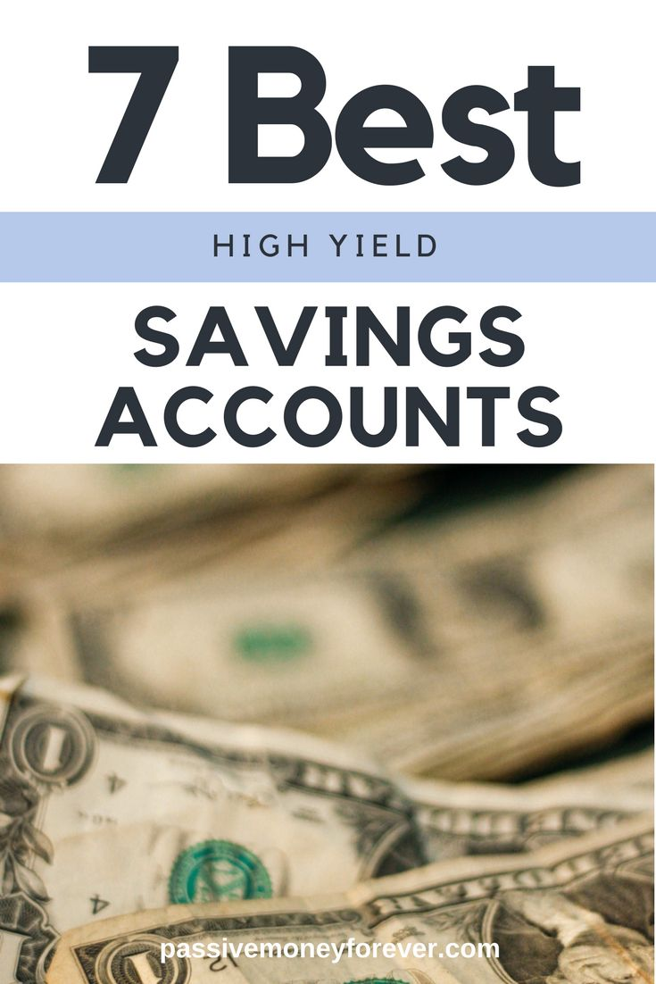 7 Best High Yield Savings Accounts!  If you are truly looking to get out of debt, then start telling your money how to perform.    #getoutofdebt #debtsnowball #howtosavemoney #money #passivemoneyforever