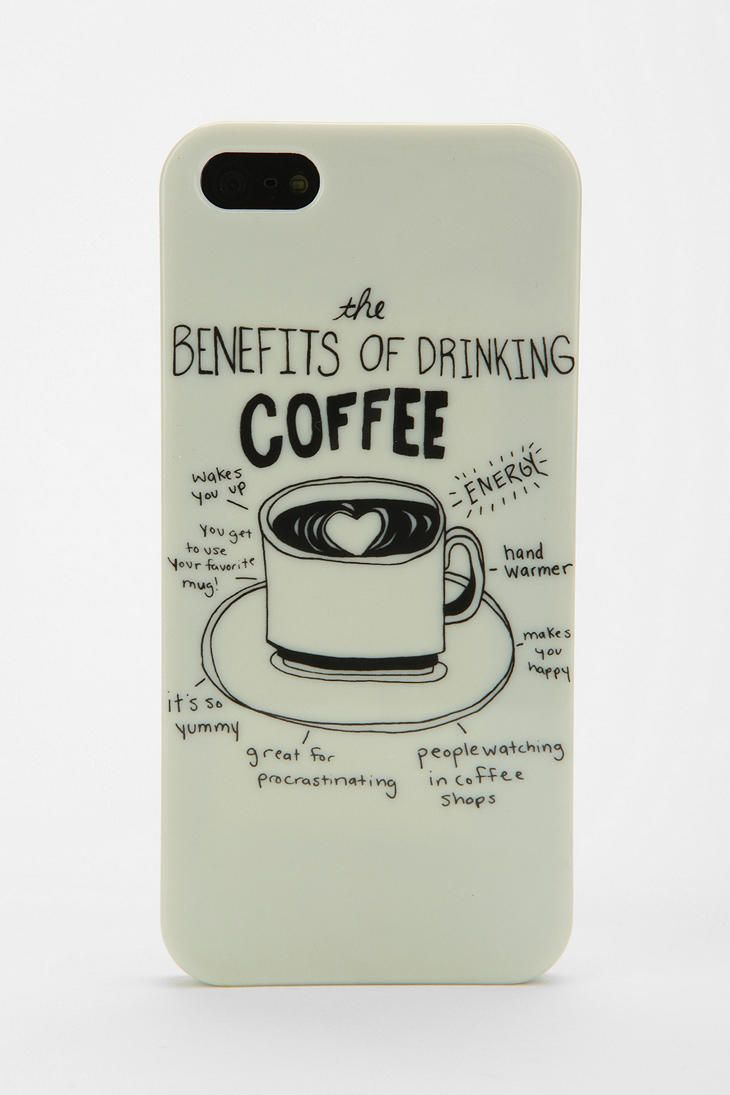 UO Coffee iPhone 5 Case