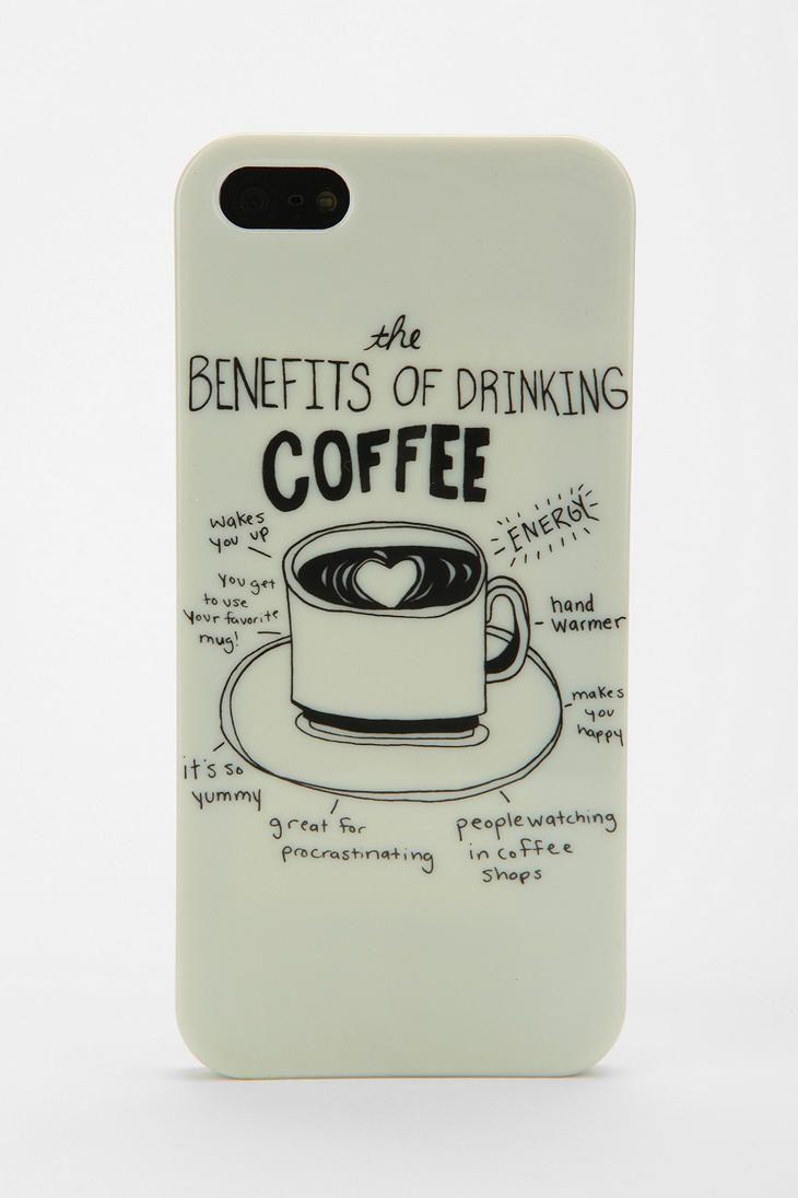 UO Coffee iPhone 5 Case