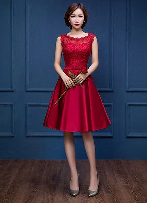 Multicolor Bridesmaid Dress Skirt Dinner party formal evening ball gown 15