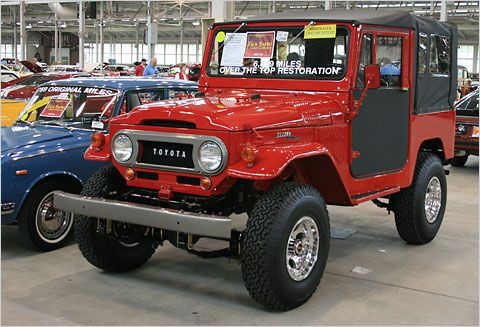 I think I really need a vintage toyota land cruiser. Can I get some support on this?