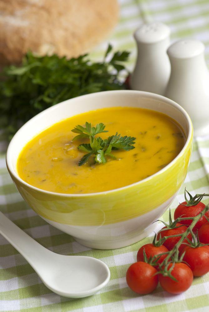 Kimberly Snyder's sweet potato & kale soup