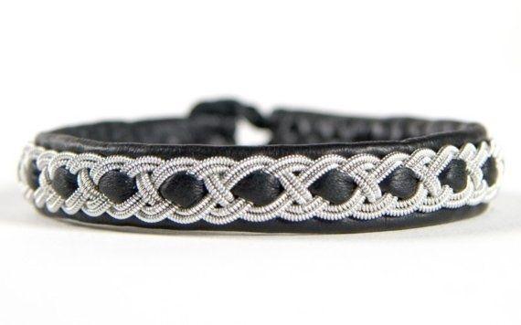 Tenntrådsarmband , svenska traditionella armband - Sami bracelets